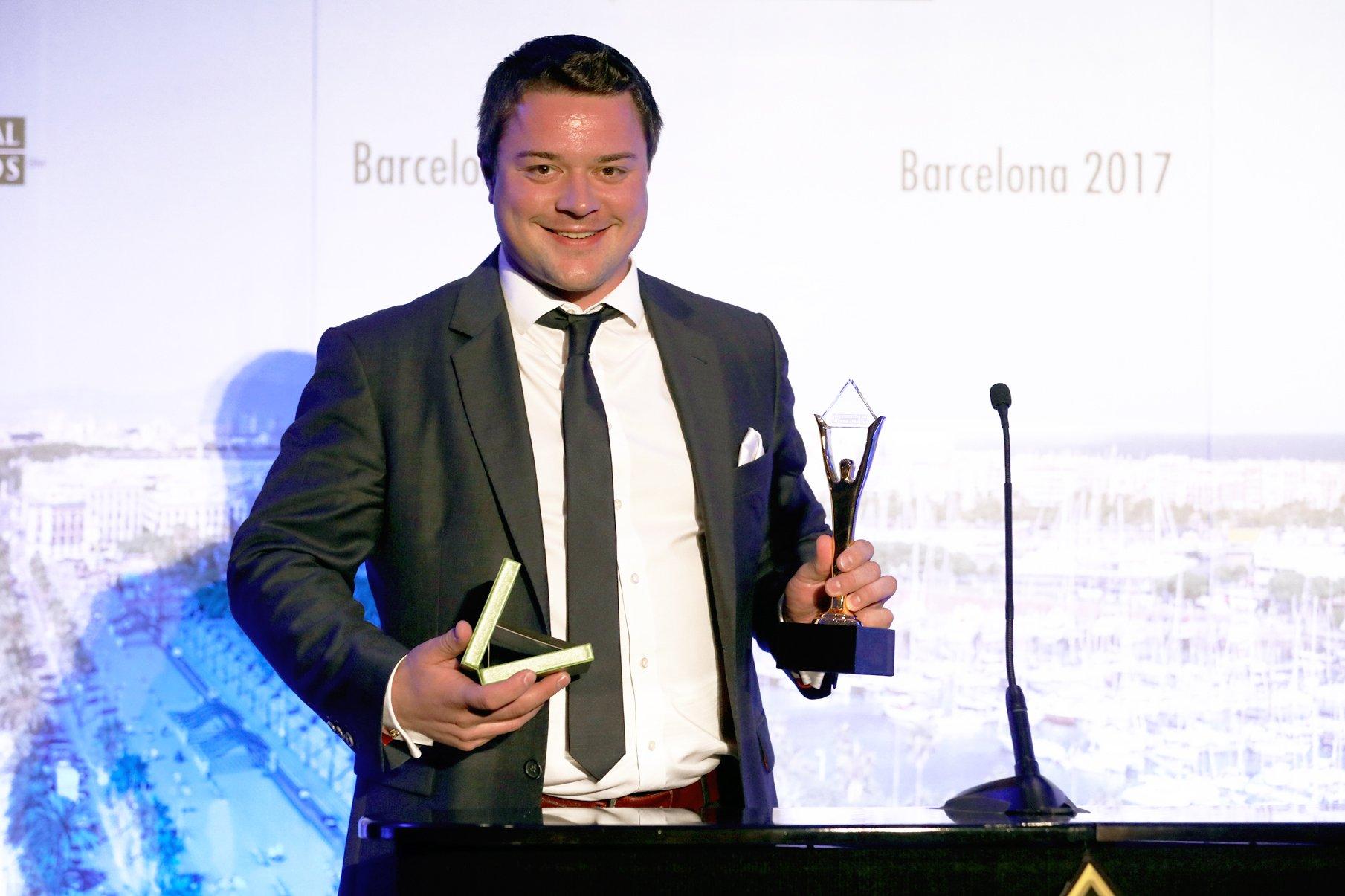 Matthias Schmidt wins a Stevie® Award