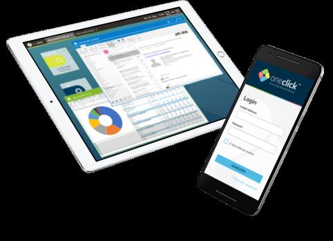 Auf Daten und native Applikationen sicher zugreifen mit oneclick