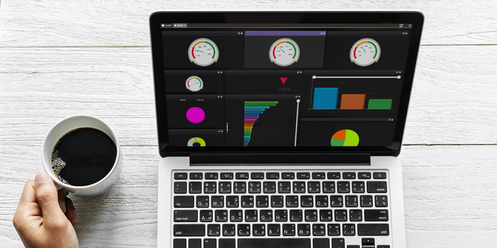Data visualisation with oneclick™ and Giant